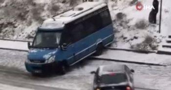 Ankara'da trafik kazaları kameralara yansıdı