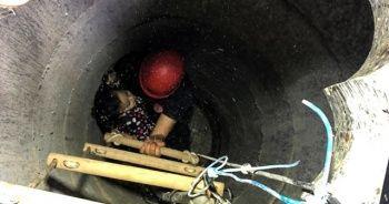 Arnavutköy'de dehşet anları! Küçük kızı böyle kurtardılar
