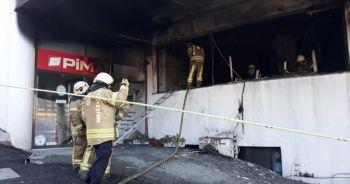 Başakşehir'de yangın paniği: Okul tahliye edildi