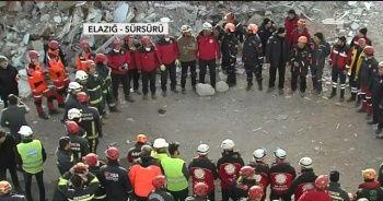 Depremin kahramanları böyle veda ettiler
