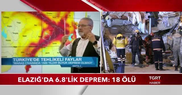 Elazığ depremini 4 ay önce bilmişti!