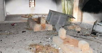 Esad rejimi, Halife Ömer Bin Abdülaziz'in türbesine saldırdı