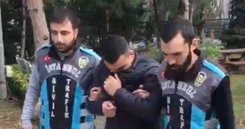 Evrak kontrolü yapan taksici gözaltına alındı