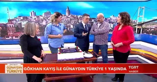 Gökhan Kayış ile Günaydın Türkiye 1 yaşında