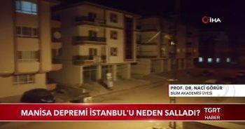 Manisa depremi İstanbul'u neden salladı!