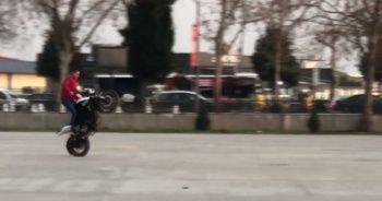 Motosikletli magandaların tek teker terörü