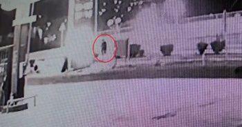 Polisin intihar anı kamerada