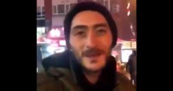 Sokakta yaşayan Hasan konuşmasıyla takdir topladı