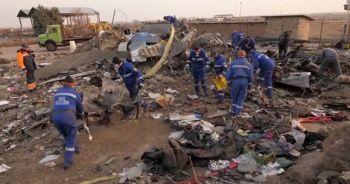 Uçak enkazına ait yeni görüntüler yayınladı