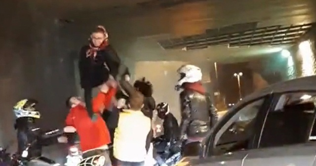 İstanbul'da asker uğurlama terörü