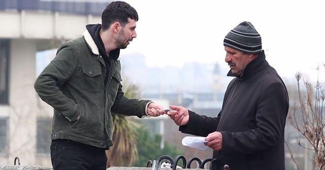 İstanbul'da 'İyilik akımı' projesinin öncülerinden duygulandıran yardım