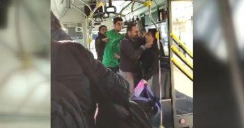 'Üstü kirli' diye küçük çocuğu otobüsten attı, çocuğu savunan yolcunun ise gırtlağını sıktı
