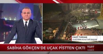 Bakan Turhan TGRT Haber canlı yayında kazaya ilişkin değerlendirmelerde bulundu!