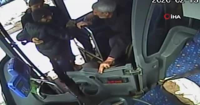 Bingöl'de otobüs şoföründen örnek davranış