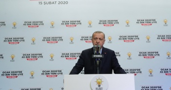 Cumhurbaşkanı Erdoğan'dan AK Parti açıklaması