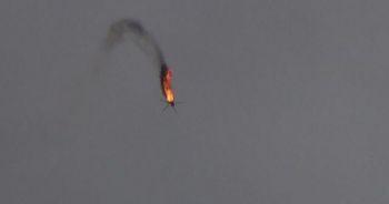 Esad rejimine ait helikopterin vurulma anının görüntüleri ortaya çıktı