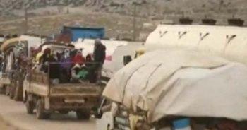 İdlib'de 'Türkiye kapıyı açsın' eylemi
