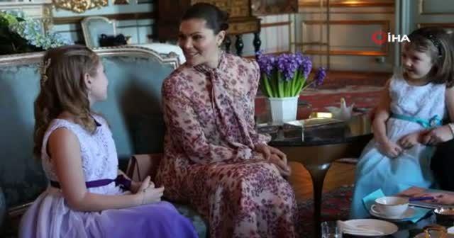 İsveç Prensesi Victoria ölümü bekleyen çocuğun hayalini gerçekleştirdi