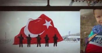 Jandarma Genel Komutanlığından 14 Şubat paylaşımı
