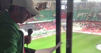 Konyaspor maçında İdlib şehitlerimiz unutulmadı!