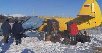 Rus uçağının düşme anı kamerada