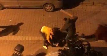 Sokak ortasında ölümüne kavga!