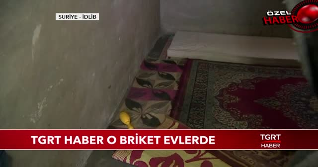 TGRT Haber, Cumhurbaşkanı Erdoğan'ın talimatıyla yapılan briket evlerde