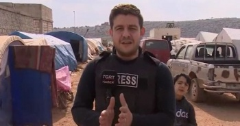 TGRT Haber İdlib'de