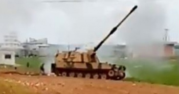 TSK, Esad rejimini vurdu