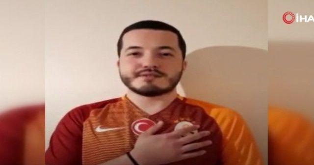 """Galatasaray taraftarından Fatih Terim'e mesaj: """"Koy elini kalbine, evlatların seninle"""""""