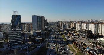 Anadolu Yakası'nda trafik yoğunluğu havadan görüntülendi
