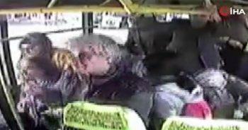 İçi yolcu dolu hatlı minibüsü silahla taradılar