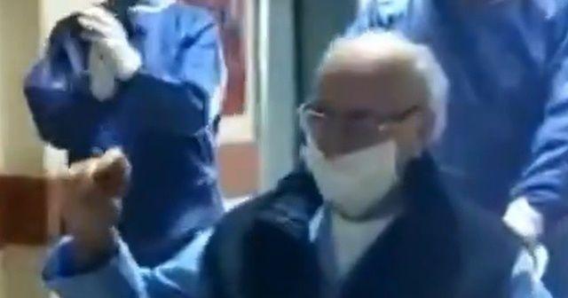95 yaşında korona virüsü yendi