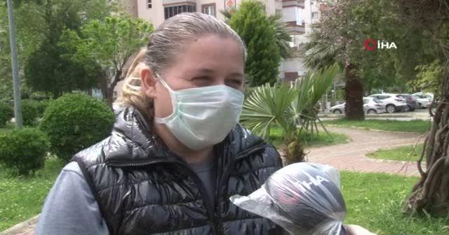 Otizmli milli sporcu kızı moral oldu, korona virüsü yendi
