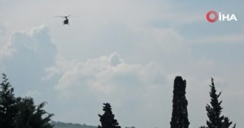 112 acil ambulans helikopterine tarla sahipleri izin vermedi!
