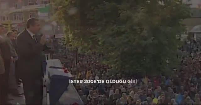 Cumhurbaşkanı Erdoğan AK Parti paylaşımı