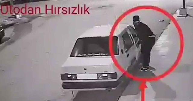 Nizip'te 29 ayrı suçtan kaydı bulunan hırsızlık şüphelisi yakalandı