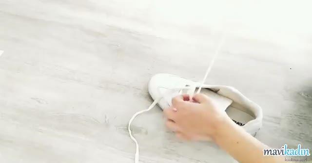 2 Dakikada Şekilli Ve Kolay Şekilde Ayakkabı Bağcığı Nasıl Bağlanır