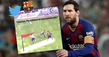 Barcelona'yı Erzurum'a davet ettiren 'Messi' paylaşımı