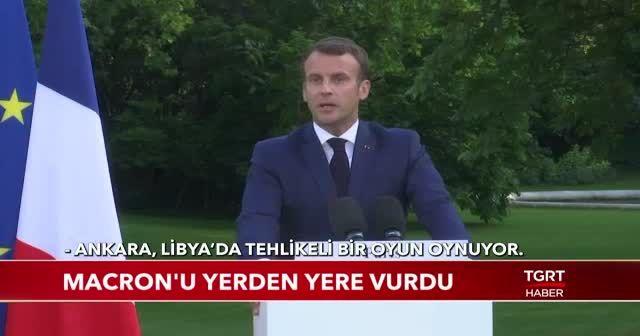 Fransız radyocudan Macron'a tepki