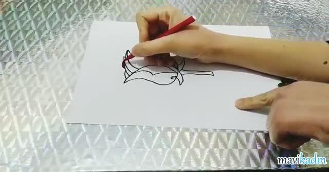Gül Nasıl Çizilir? Herkesin Çizebileceği Kolay Bir Tarif