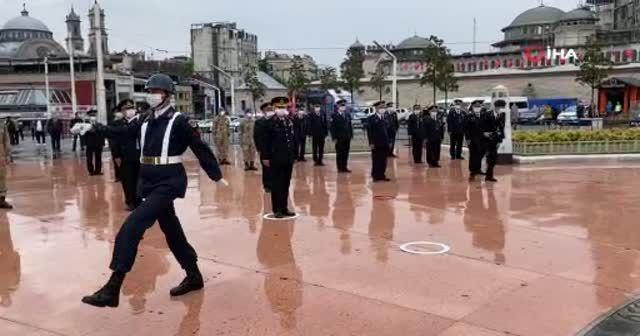 Taksim'de jandarmanın 181'inci kuruluş yıl dönümü töreni