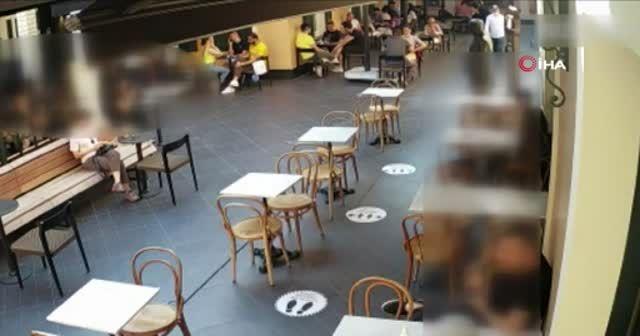 Beyoğlu'nda bir restoranda müşterinin çantası çalındı