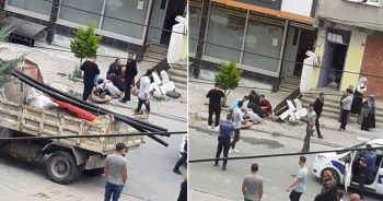 Arnavutköy'de güpegündüz silahlı saldırı