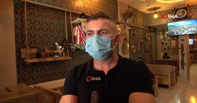 Bu yöntemle maske kullanımını eğlenceli hale getirdiler