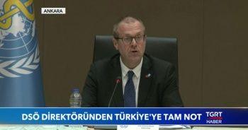 DSÖ direktöründen Türkiye'ye tam not