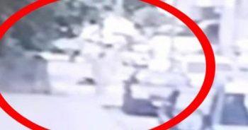 Kadın cinayeti güvenlik kamerasında