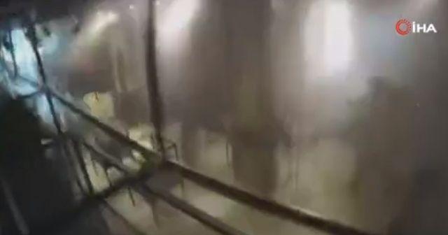 Beyrut'taki patlama anına yönelik yeni görüntü ortaya çıktı