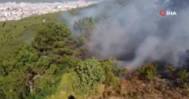 """İstanbul Valiliği: """"Aydos Ormanı'ndaki yangın kontrol altına alındı"""""""