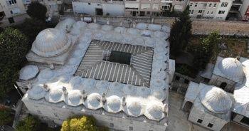 472 yıllık Mihrimah Sultan Cami Külliyesi havadan görüntülendi